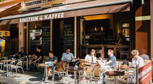 Café in der Bergmannstraße EINSTEIN KAFFEE