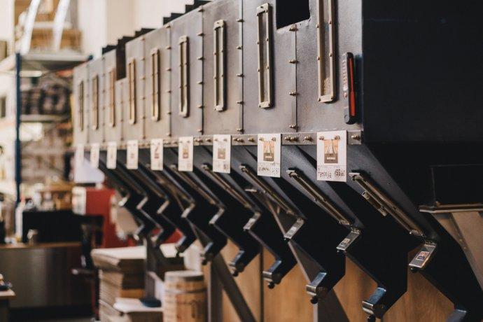 Zwanzig Kaffeesorten aus der Rösterei Café EINSTEIN