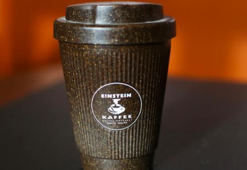 Nachhaltiger Kaffeebecher aus recyceltem Kaffeesatz