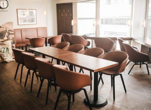 Kaffee-Lounge bei EINSTEIN KAFFEE Friedrichstraße