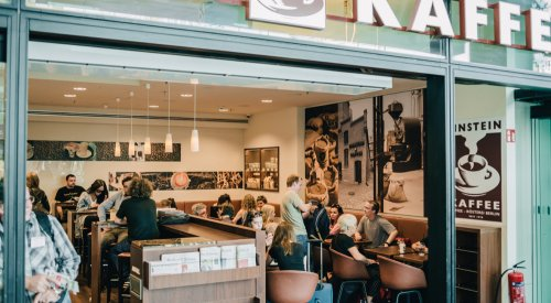 Kaffeehaus am Hauptbahnhof Berlin