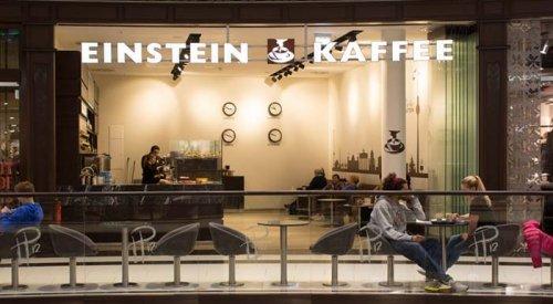 Café in der Mall of Berlin