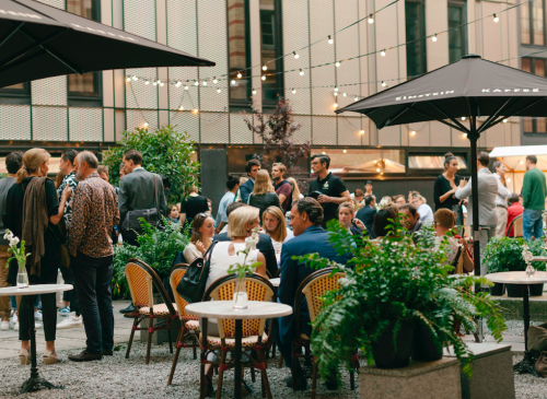 Eventlocation bei EINSTEIN KAFFE in Mitte