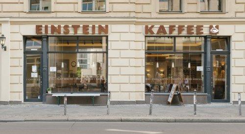 Café in der Rosenthaler Straße