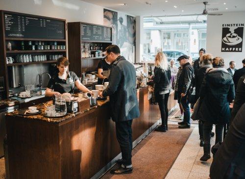Kaffeespezialitäten im Café Stadtmitte