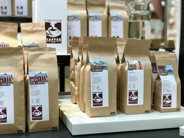 Cafe Shop EINSTEIN KAFFEE