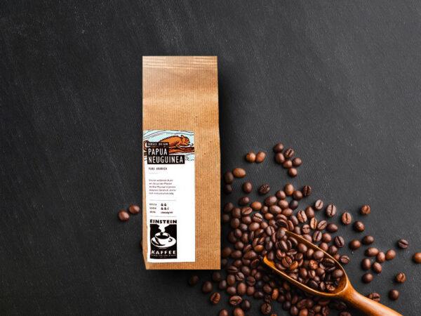 Premium Kaffee aus Papua Neuguinea von EINSTEIN KAFFEE