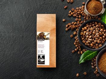 Kräftig-vollmundiger Kaffee: Uganda Single Origin Kaffeebohnen