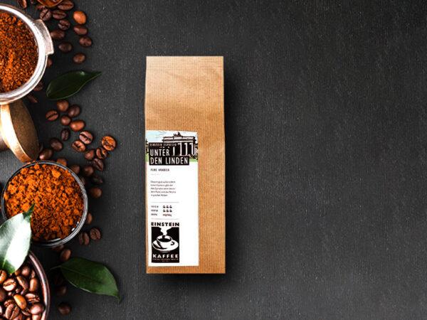 Kaffeemischung Unter den Linden EINSTEIN KAFFEE